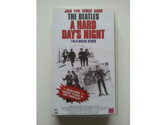 THE BEATLES A HARD DAY'S NIGHT - VHS