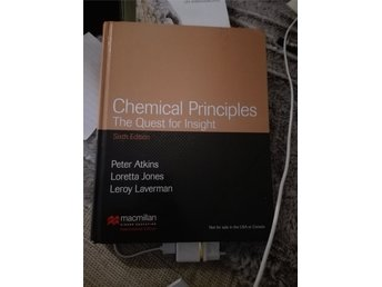 Chemical principles the quest for insight