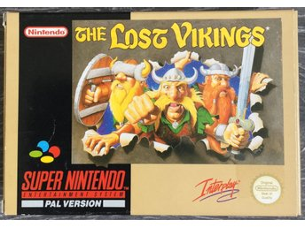 The LOST VIKINGS Super Nintendo - SCN Bergsala