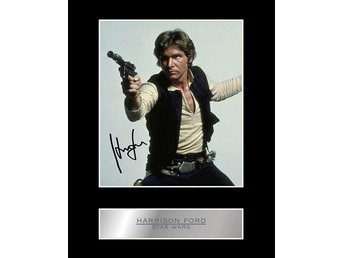 Harrison Ford Star Wars Limited Edition canvastavla en av 50 gjorda