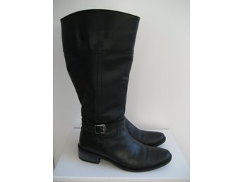 Emma Natural Comfort stl 37 svarta stövlar äkta.. (418742481
