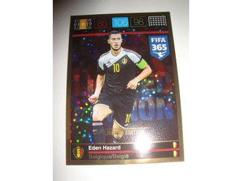 Panini Adrenalyn XL FIFA 365 - Limited Edition - EDEN HAZARD - Belgien