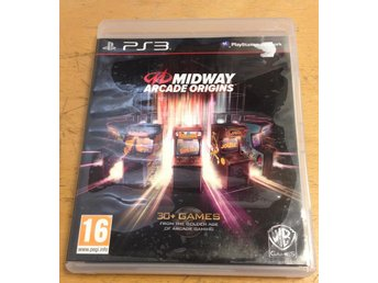 Midway Arcade Origins PS3 Playstation 3