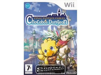 FINAL FANTASY FABLES – CHOCOBO'S DUNGEON /CHOCOBOS (komplett) till Nintendo Wii