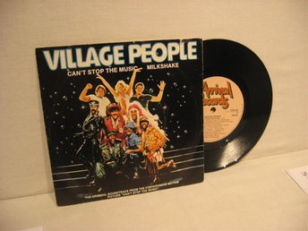 VILLAGE PEOPLE --- / CAN`T STOP THE MUSIC / -- 1980 - SINGEL