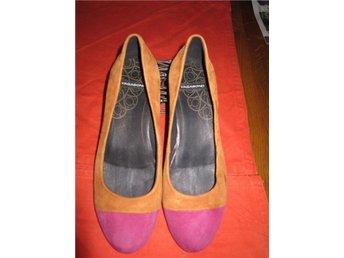 VAGABOND skor,pumps,lågskor,stl.37,end.provade,mocka,terracotta/cerise - Höör - VAGABOND skor,pumps,lågskor,stl.37,end.provade,mocka,terracotta/cerise - Höör