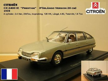 Citroën CX Prestige 1978 - Skala 1:43 - FAST PRIS! - Bandhagen - Citroën CX Prestige 1978 - Skala 1:43 - FAST PRIS! - Bandhagen