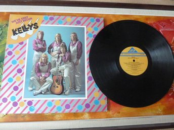 KELLYS, WE´VE ONLY JUST BEGUN, LOVE WILL KEEP US TOGETHER, 1977, LP, LP-SKIVA