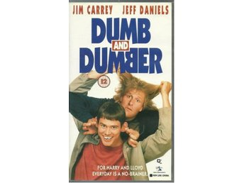 Dumb and dumber - Jim Carrey - Ej text - Vhs