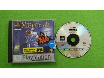 Medievil PSone ps1 Playstation