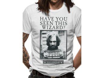 HARRY POTTER - SIRIUS POSTER (UNISEX)  T-Shirt - Large