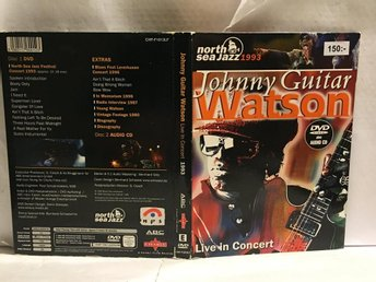 JOHNNY GUITAR WATSON - LIVE IN CONCERT - DVD+CD