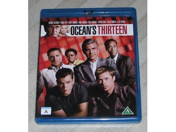 Ocean's Thirteen - Svensk Text (Blu Ray) Bluray - George Clooney - Matt Damon -