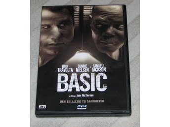 Basic - Svensk Text (DVD) - John Travolta - Connie Nielsen - Samuel L. Jackson