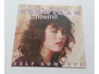 "Laura Brannigan Self Control NM 1984 7"" singel vinyl MEGA hit"