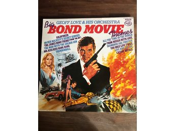 LP BOND MOVIE THEMES- mycket fint skick Filmmusik