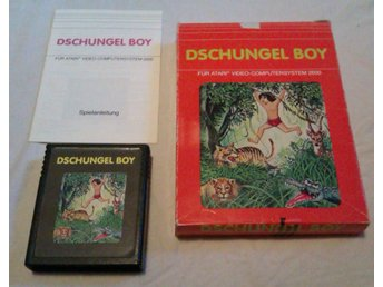 Dschungel Boy - Atari 2600 - Quelle - Komplett - (Tom Boy)
