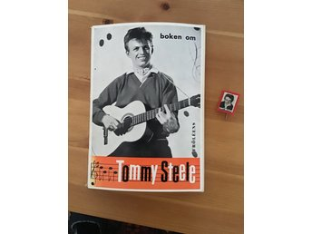 Bok  om Tommy Steele retro 1958, Pins