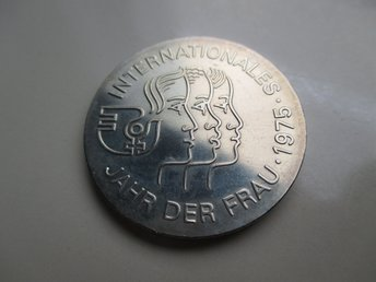 ddr 5 mark, 1975 International Women's Year