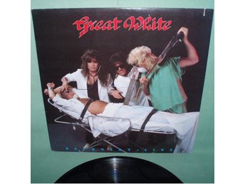 GREAT WHITE - Recovery: Live , LP 1987 ,
