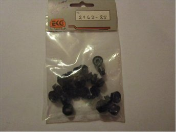 25 st Clips/PVC-mutter, VW Golf ( upp till -1983 )