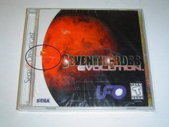 Seventh Cross Evolution Sega Dreamcast Amerikanskt USA NTSC *NYTT*