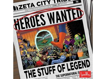 Heroes Wanted: The Stuff of Legend - Brädspel
