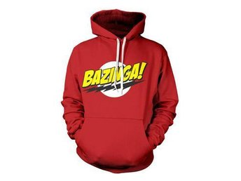 Big Bang Theory Huvtröja Bazinga Logo XL