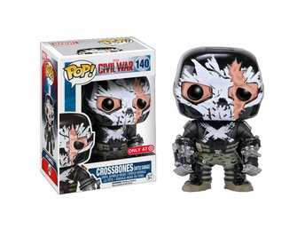 Funko Pop! Captain America Civil War: Crossbones [Battle Damage] no140