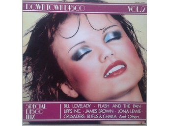 Various title* Down Town Disco Vol. 2* Pop Rock, Disco LP, Comp SWE