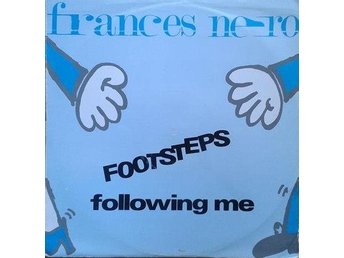 "Frances Nero title* Footsteps Following Me *House 12"" UK"