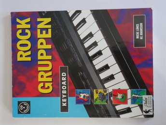 ROCK GRUPPEN KEYBOARD med CD