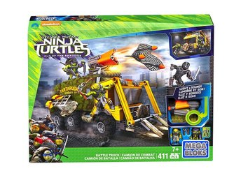 Teenage Mutant Ninja Turtles Mega Bloks Construction Set Battle Truck