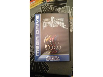 Power Rangers - The Movie - Sega Mega Drive (komplett)