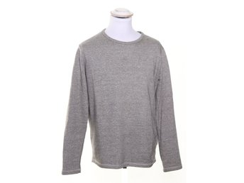 Lee, Sweater, Strl: M, Grå