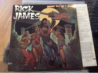 Rick James - Bustin out of L seven.