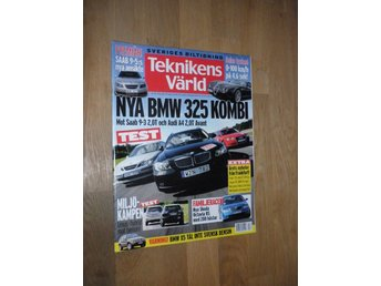 Teknikens Värld nr 20, 2005, BMW 325 Kombi