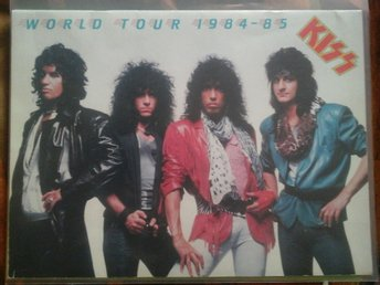 KISS - World tour 1984-85 - Official Tourbook