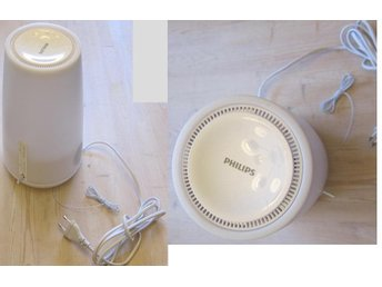 Philips Hf3470 Wake-up Light, White.  Condition as NEW!