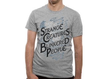 CRIMES OF GRINDELWALD - STRANGE CREATURES  T-Shirt Extra-Large