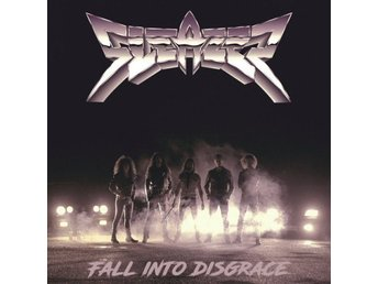 Sleazer -Fall into disgrace S/S cd with postcard heavy metal