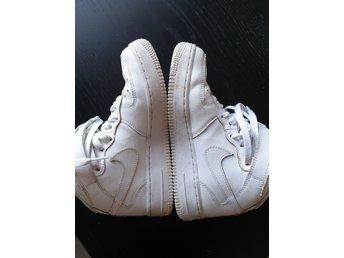 Nike Air Max, Sneakers, Strl: 35.5, Skinn, Vit