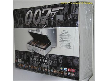 James Bond - 40-disc Ultimate Edition -INPLASTAD-