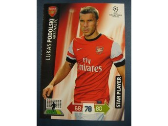 STAR PLAYER -  LUKAS PODOLSKI -  ARSENAL - CHAMPIONS LEAGUE 2012-2013