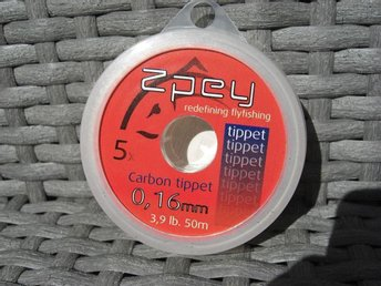 Zpey Carbon Tippet 0,16mm 50m