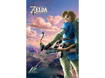 Legend of Zelda Breath of the Wild Poster Pack Hyrule Scene Landscape 61 x 91 cm