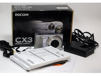 Ricoh CX3 Digital Kamera 10MPixel Zoom 10.7x