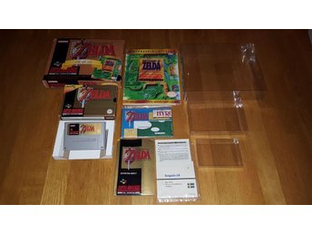 Zelda Gold Pack! The Legend of Zelda A Link to the Past, SNES, Super Nintendo