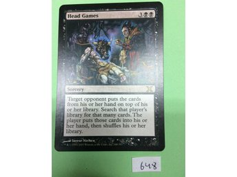 Head games - Tenth edition - Magic the gathering - Odensbacken - Head games - Tenth edition - Magic the gathering - Odensbacken