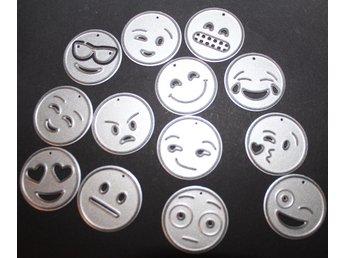Die Dies cutting dies scrapbooking 13st delar smile - Skogås - Die Dies cutting dies scrapbooking 13st delar smile - Skogås